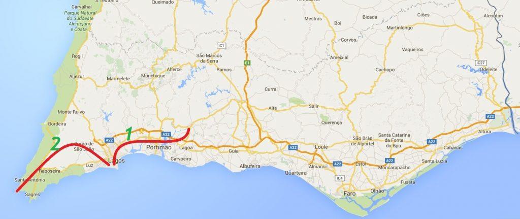 TransAlgarve MTB Férias 2 dias de ciclismo ao longo da costa sul e Lagos