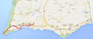 Trans-Algarve 2 Fahrradtage entlang der Südküste und Lagos