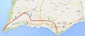 Trans Algarve 3 Fahrradtage