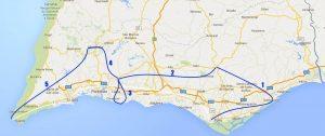 Trans Algarve 4 + 1 Fahrradtage