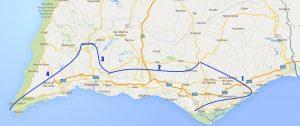 Trans Algarve 4 Fahrradtage