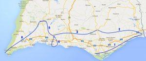 Trans Algarve 5 + 1 Fahrradtage