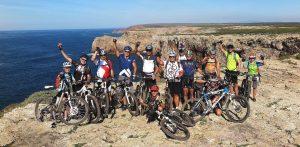 férias de ciclismo trans algarve com grupo
